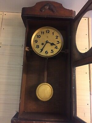 old Antique wall clock german?