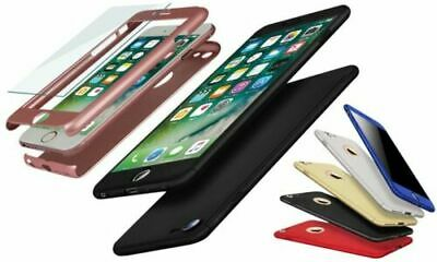 Case for Apple iPhone 6 7 8 5 SE Plus XS Cover 360 Luxury Shockproof Thin Hybrid