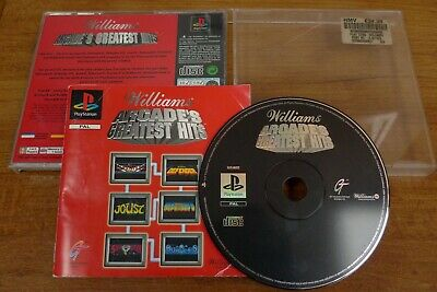 Sony Playstation Ps1 Game Williams Arcade's Greatest Hits