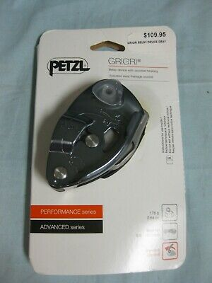 Petzl Grigri Belay Device Gray D014BA00 Gri Gri Assisted Braking 2019