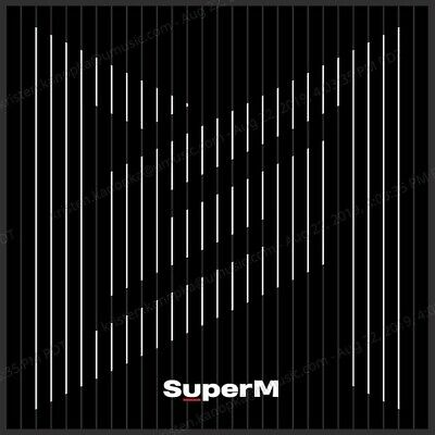 SuperM The 1st Mini Album 'SuperM' UNITED Ver. Audio CD 2019 Free Shipping NEW