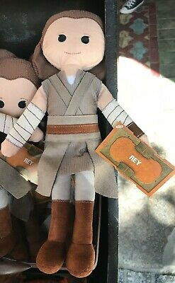 Disney Star Wars Galaxy's Edge Toydarian Toymaker Rey Plush - New