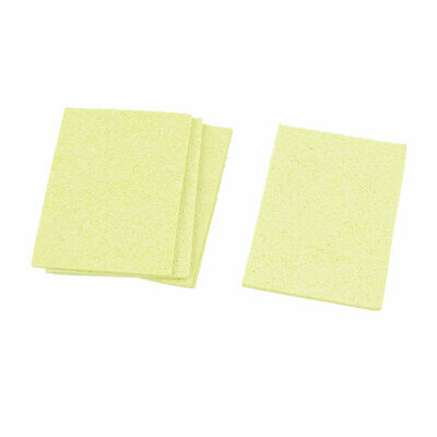Solder Stands Station Soldering Iron Cleaning Sponge Pad Yellow x 5