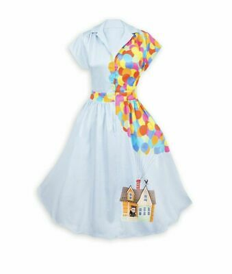 Brand New! Pixar Up Balloons House Russell Disney Parks The Dress Shop 2X NWT