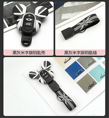 Silicone Keyring Keychain FOB Remote Key Cover Case For Mini Cooper F54~F60 K02