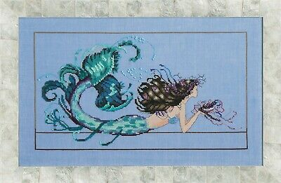 Mermaid Undine Cross Stitch Chart a