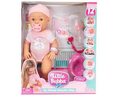 Little Bubba My Ultimate Interactive Baby Doll Free Shipping!