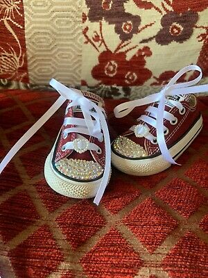 CONVERSE ALLSTAR LOW Infant Trainers Size 4 (12 18 months