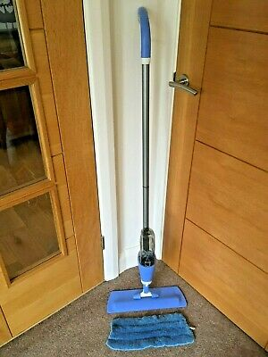 VGC Genuine Lakeland Hard Floor & Tile Manual Spray Mop Cleaner & Microfibre Pad