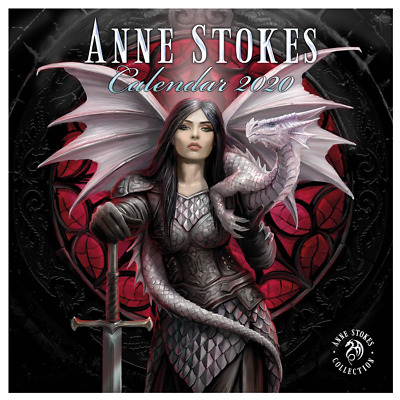 Stunning Anne Stokes - Official 2020 Calendar - General Art - A Year of Fantasy