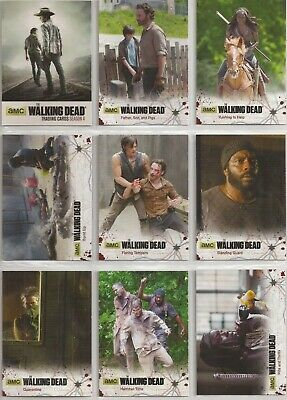 The Walking Dead Season 4 Part 1 Trading Cards - Basis Set (72 Karten)