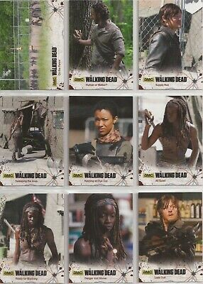 The Walking Dead Season 4 Part 2 Trading Cards - Basis Set (72 Karten)