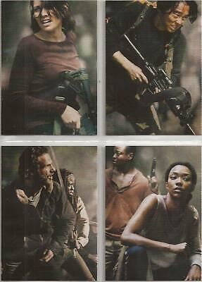 The Walking Dead Season 4 Part 2 Trading Cards - Poster Set (D5-D8)