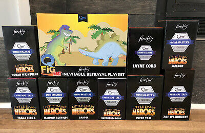 Loot Crate Firefly QMx Mini Masters 10 Piece Set Serenity