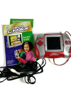 Leap Frog Leapster L-Max Portable Learning System Red With TV Cable