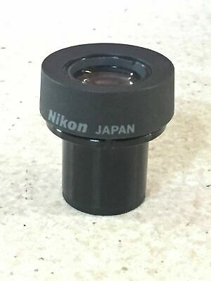 Nikon Microscope Focusable Eyepiece 15X/14 CFWN Labophot Optiphot Epiphot