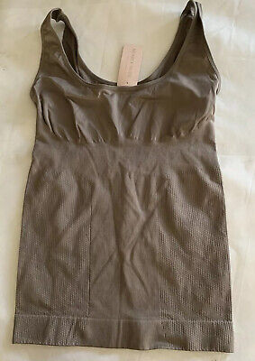 Nearly Nude 3pk Seamless Shaping Tank Foundation Pieces Pick Sz /& Colors 584826