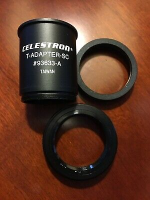 Celestron T-Adapter-SC for Schmidt-Cassegrain Telescopes with Canon mount