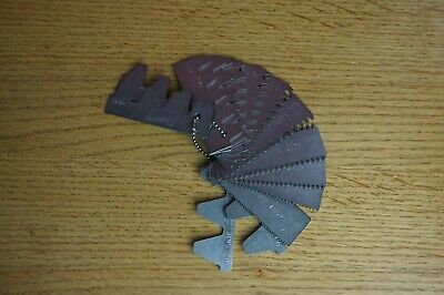 Gear Tooth 6 to 80 D.P  Profile gauge Imperial gear range 22 profiles 14 leafs