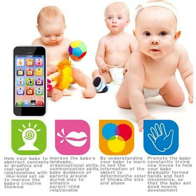 Kids Simulator Music Toy Cell Phone Educational Learning Screen Child Gift
