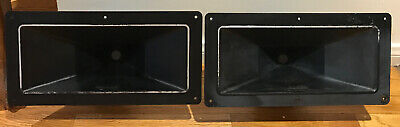 Altec Lansing Speakers Mantaray Constant Directivity Horns Model 14 * Pair *