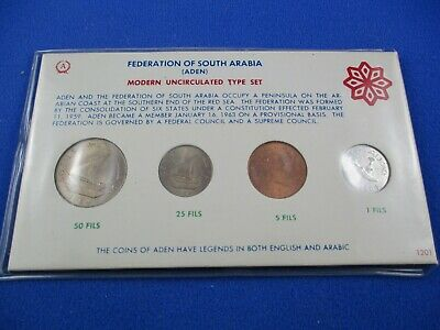 Federation Of Outh Arabia (Aden) - Modern Uncirculated Type Set -