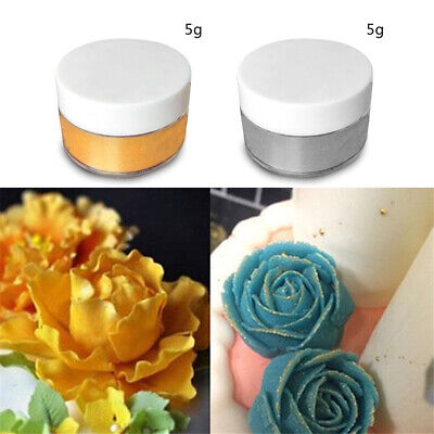 Lustre Dust Edible Sugarcraft Ingredient Food Cake Colour Powder Tint Decorate