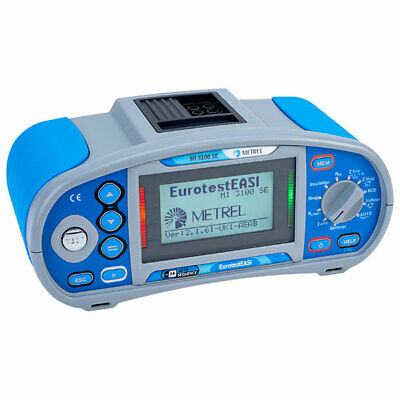 Metrel MI3100SE Installation Tester with Autosequence and Download Software
