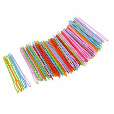 Large Eye Hand Sewing Plastic Needles Craft Tapestry Emboidery 5/10/20 Pcs
