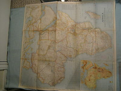 MAP 1584 ORTELIUS AFRICA MAP LARGE WALL ART PRINT POSTER PICTURE LF1830