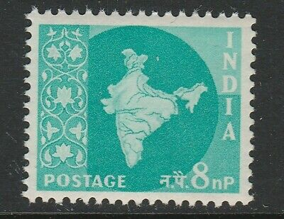 India 1957 8np Definitive SG 379a Mnh/ Unmounted mint.
