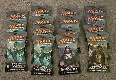 11 new Magic the Gathering Booster Packs  Sealed 2014 fate reforged nyx tarkir