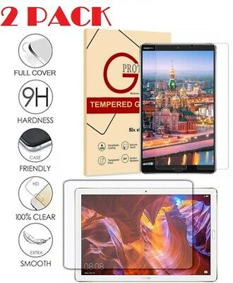 "Real Tempered Glass Screen Protector For Huawei Mediapad T3 T5 M3 M5 7"" 8"" 10"""