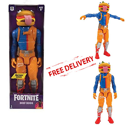 FORTNITE ACTION FIGURE Beef Boss Victory Series Kids Collectible Toy Gamers Gift