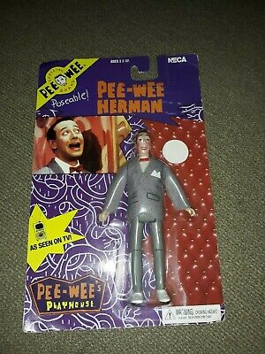 NECA Pee-Wee Herman Poseable Action Figure Pee-Wee/'s Playhouse Series 1