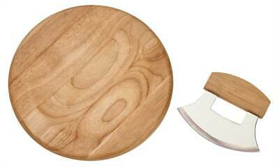 Ulu Knife with Round Wooden Board [ID 3853994]