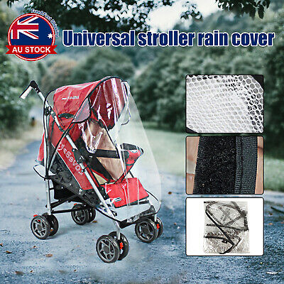 EVA Universal Baby Infant Stroller Pram Buggy Rain Cover Pushchair Wind Shield A