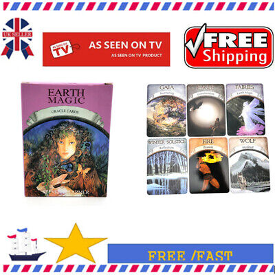 NEW Magic Oracle Cards Earth Magic Read Fate Tarot 48-card Deck Party Game UK1