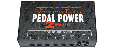 Voodoo Lab Pedal Power 2 PLUS 8-output Isolated Guitar Pedal Power Supply