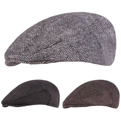 Men's Hat Classic Beret Cap Casual Newsboy Cabbie Driving Caps Outdoor Golf Hats