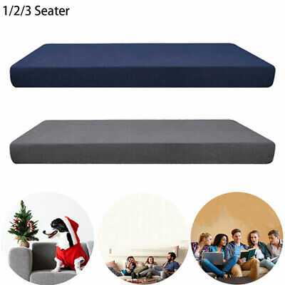 Sofa Covers Stretch Couch Slipcover Elastic Fabric Settee Protector Fit 1-3 Seat
