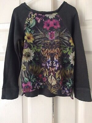 Next Girls floral long sleeved top Age 5 Years