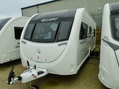 Swift Sprite Major 6 Td, New/Unregistered, 2019, 6 Berth, Fixed Bunk Beds!!!