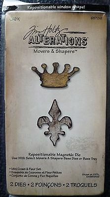 SIZZIX TIM HOLTZ MOVERS /& SHAPERS MINI CLIPBOARD TOP /& BOTTOM 658560 NEW SEALED
