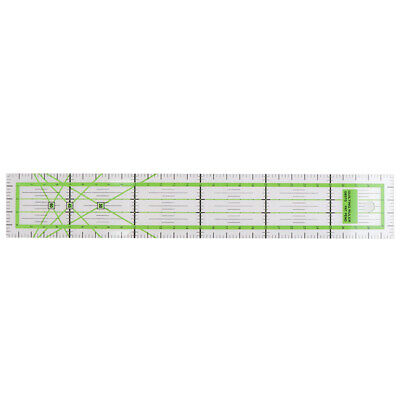5x30cm Transparent Acrylic Sewing Patchwork Ruler Quilting Feet Tailor Ruler.