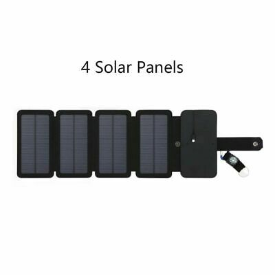 SunPower folding 10W Solar Cells Charger 5V 2.1A USB Output Devices Portable