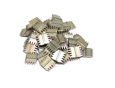 """Barnwell Pack of 100 Replacement 1"""" 25mm Bricklayers Builders Scutch Chisel Comb"""