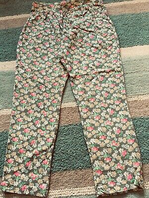 Next Girls Jersey Floral Summer Trousers Age 6