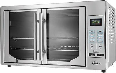 Oster TSSTTVFDDG Stainless Steel Digital French Door Convection Oven Extra Large