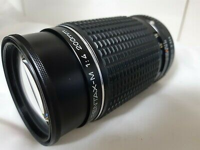 [Naer Mint]SMC Pentax-M F/1.4 200mm From Japan Free Shipping